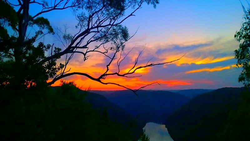 Berowra Waters Lookout Sunset